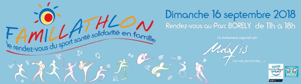 Famillathlon13 Logo